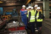 «Орловский сталепрокатный завод» посетила белорусская делегация
