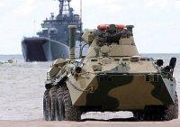 В войска ЗВО поступают новые БТР-82АМ