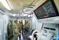 ВС Украины получили операционную и рентген-кабинет на базе КрАЗа
