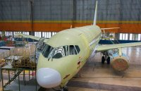 «Авиастар-СП» установил интерьер на очередном самолёте SSJ-100