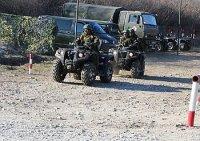 В ДВОКУ поступили новые армейские мотовездеходы