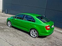 На заводе Volkswagen в Калуге приступили к производству обновленной Skoda Rapid