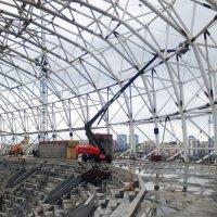 Подъемники Manitou TJ280 на строительстве крупных российских инфраструктурных объектов