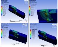 Применение численного компьютерного моделирования для исследования зависимости остаточных напряжений от режимов резания